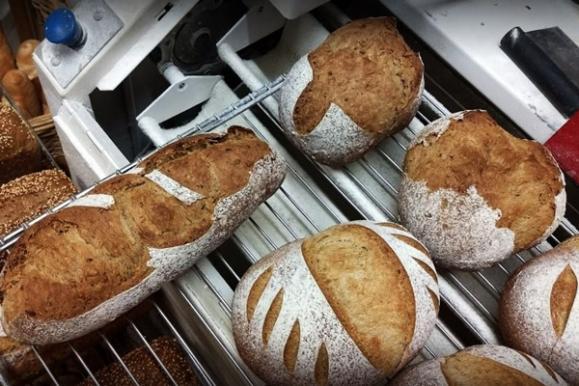 Différents pains en boulangerie