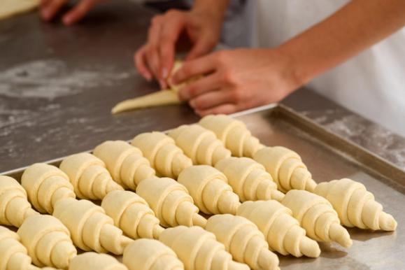 Fabrication de croissants